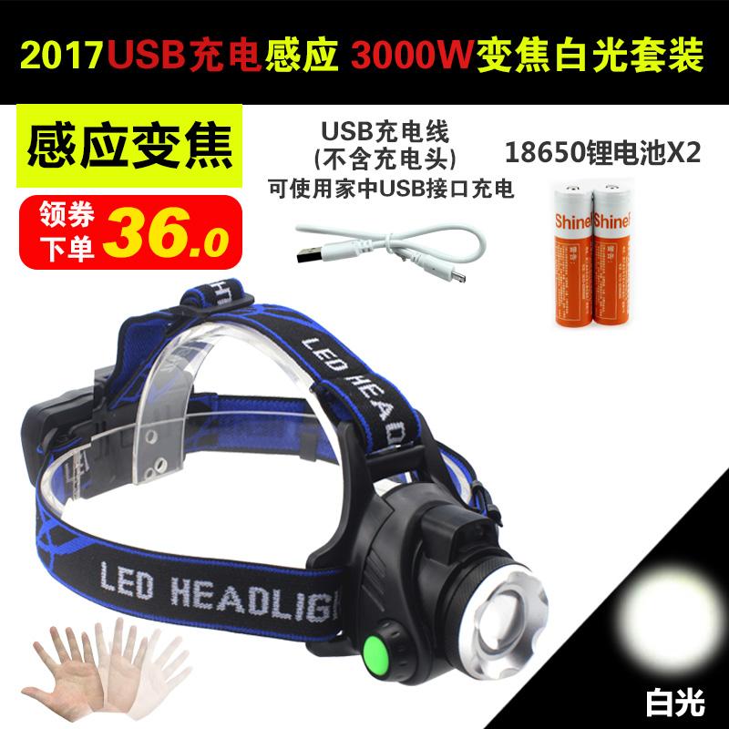 2017 новые товары USB зарядка  3000W белый 【 индукция увеличить 】