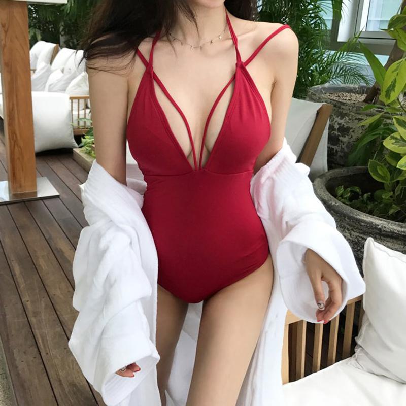 女连体韩国ins风遮肚显瘦比基尼10月20日最新优惠