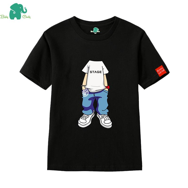 兒童衣服男中大童短袖T恤 海賊王路飛 寶寶 純棉上衣半袖