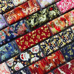 日本和风烫金棉布 家居布艺手工拼布DIY面料日式纯棉服装印染布料