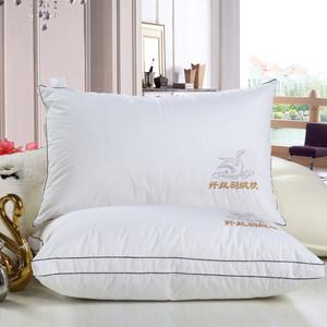 朗丝纤丝羽丝绒枕 枕头枕芯- 纤丝羽丝绒枕直播转拍
