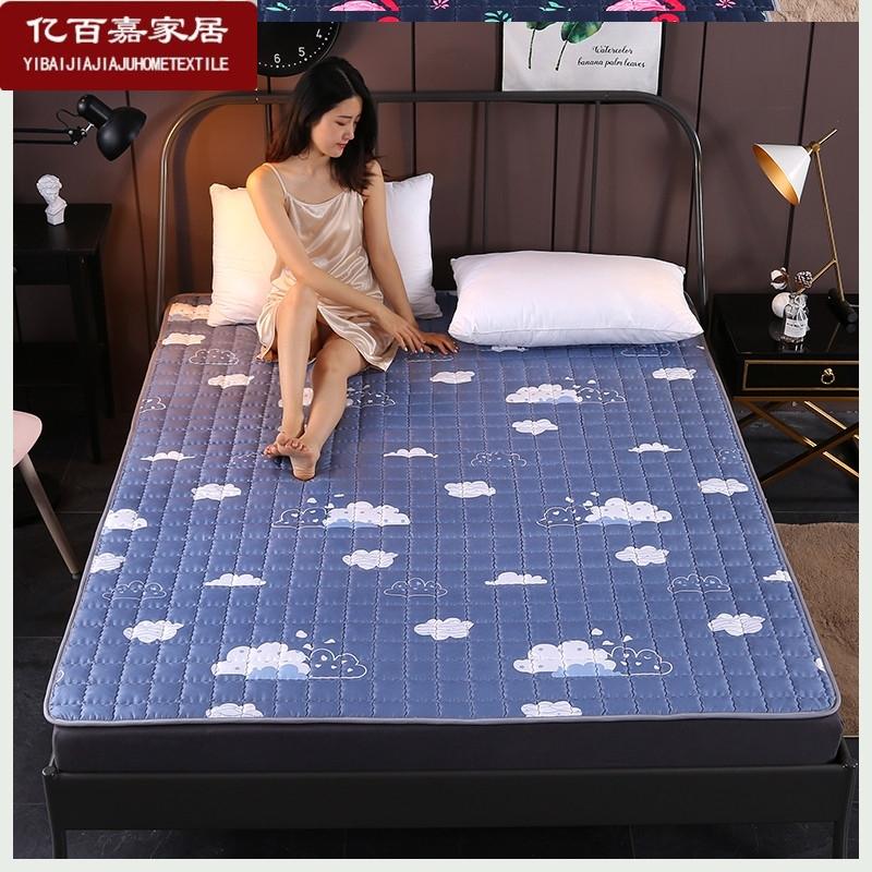 宿舍床垫软垫少女心1可水洗四季防滑薄款.2米单人学生褥子.5热销0件假一赔三