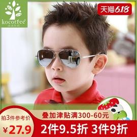 儿童太阳镜男童偏光小孩飞行眼镜防紫外线眼睛女童宝宝时尚墨镜潮图片