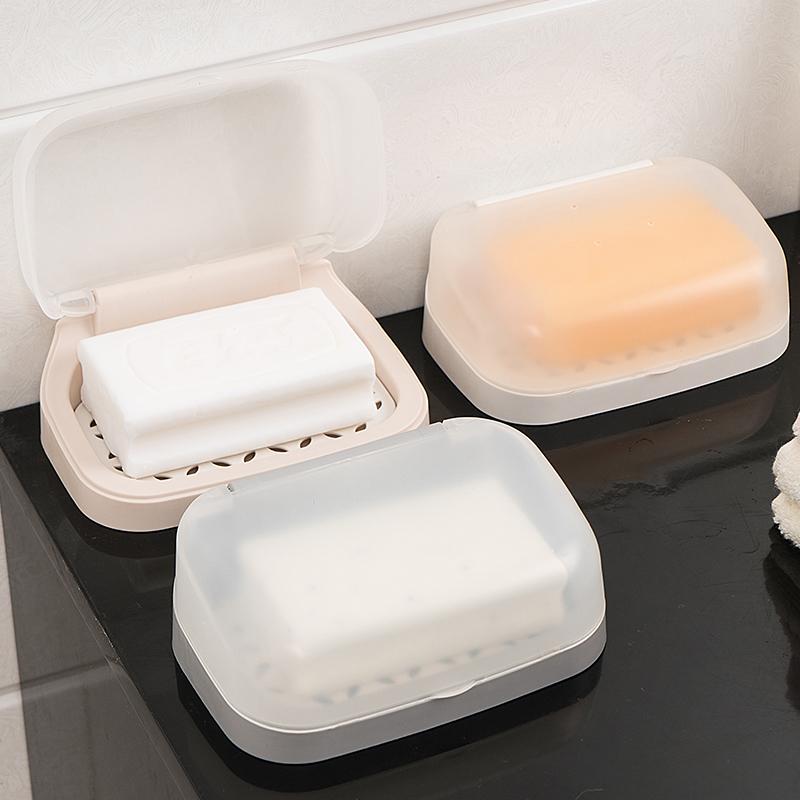 带盖密封壁挂式卫生间防水香肥皂盒