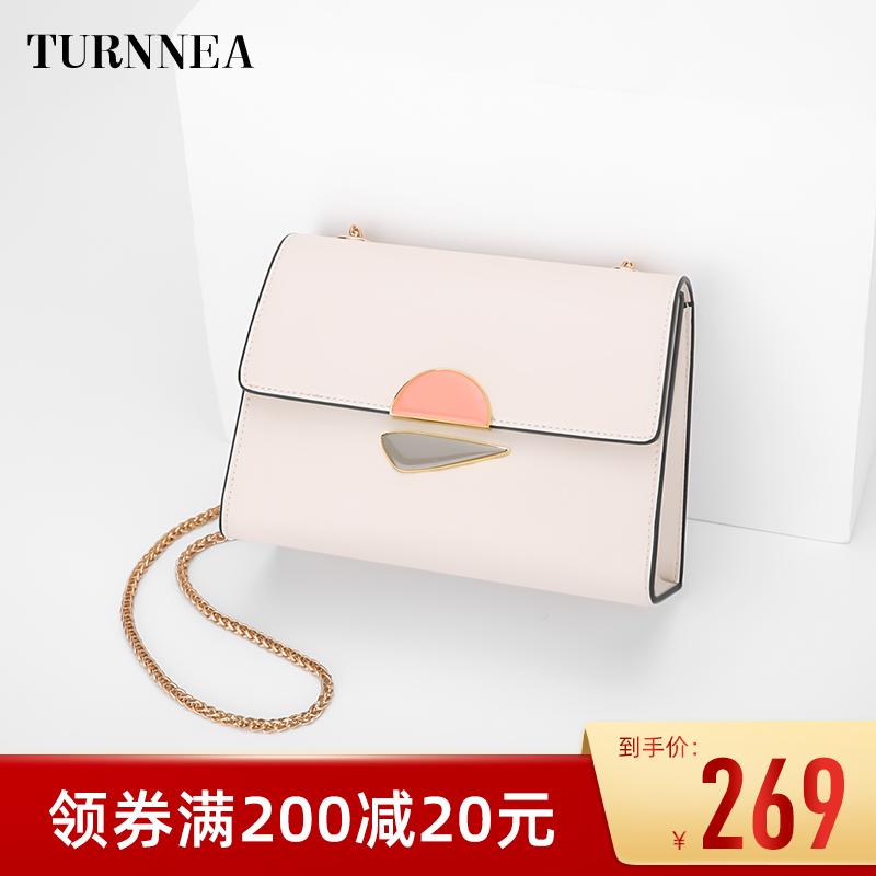 包包女包2021新款潮链条包单肩斜挎包迷你夏天白色网红小包包