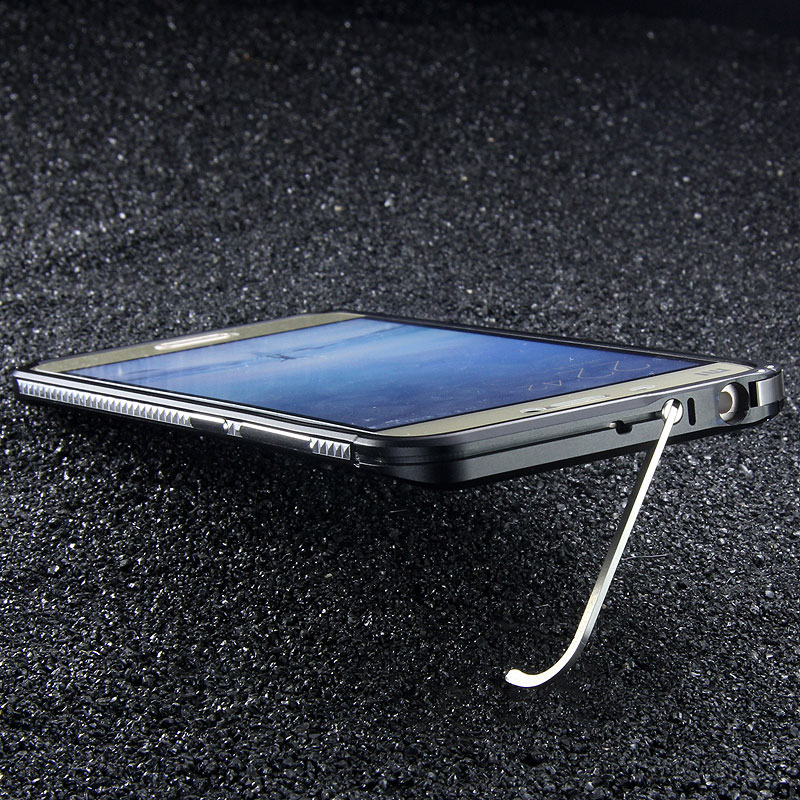 iMatch Slim Light Aluminum Metal Shockproof Bumper with Kickstand for Xiaomi Mi 5