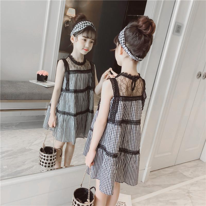 童装女童连衣裙2018新款时尚夏装韩版公主裙10儿童夏季洋气裙子潮