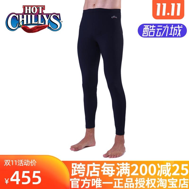 HOTCHILLYS红辣椒 永久抑菌8K磨毛男士功能保暖长裤HCA9910 包邮