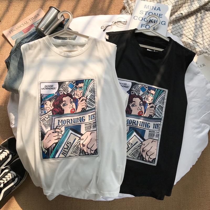 港风夏季韩版潮牌男士嘻哈宽松t恤满20.00元可用0.02元优惠券
