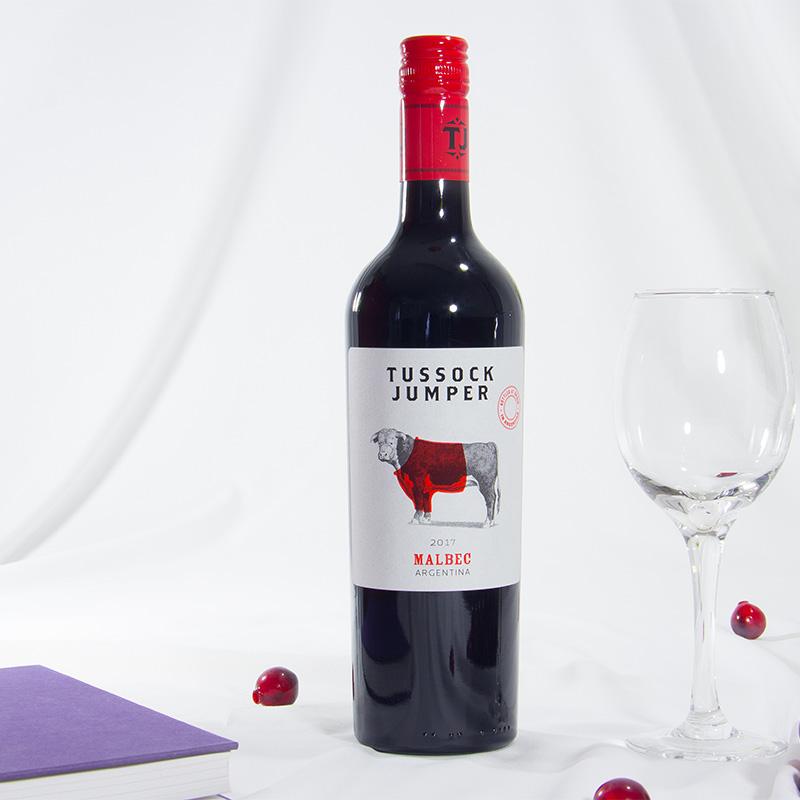 阿根廷原装原瓶红酒红衣乐园malbec马尔贝克干红