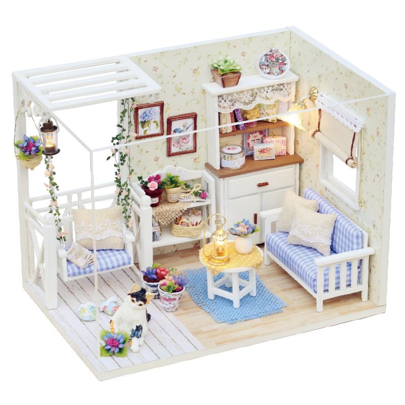 智趣屋diy小屋 製作房子拚裝模型玩具 生日 送男生女友