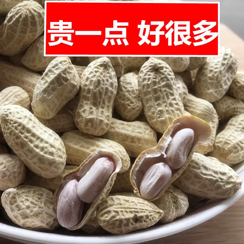 新龙岩水煮花生白晒干盐水煮咸干咸酥500gx2袋装散熟零食农家特产