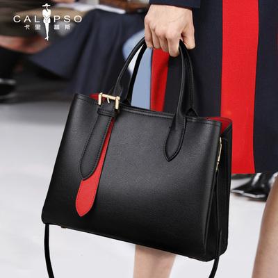真皮女包2020新款高级感女士包包时尚大容量斜挎包气质女神手提包