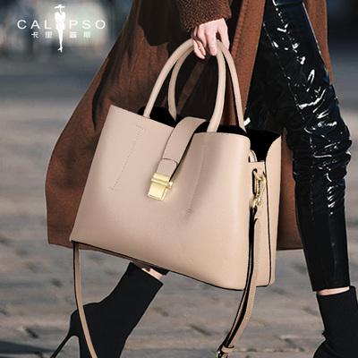 女包2020新款时尚女士单肩斜挎包大包大容量妈妈真皮包包手提包女