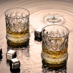 威士忌家用欧式水晶玻璃创意洋酒杯