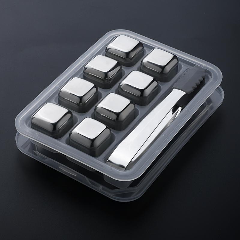 不锈钢冰块 304金属铁冰块家用速冻球冰粒饮料冰酒石宿舍冰镇神器