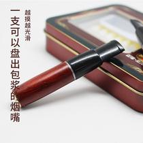 凯龙V8烟嘴 换芯型可清洗循环型双重过滤实木换滤芯通用烟具礼品