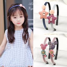 韩国儿童发卡发箍公主女童防滑带齿头箍发饰夹子宝宝超可爱萌头饰