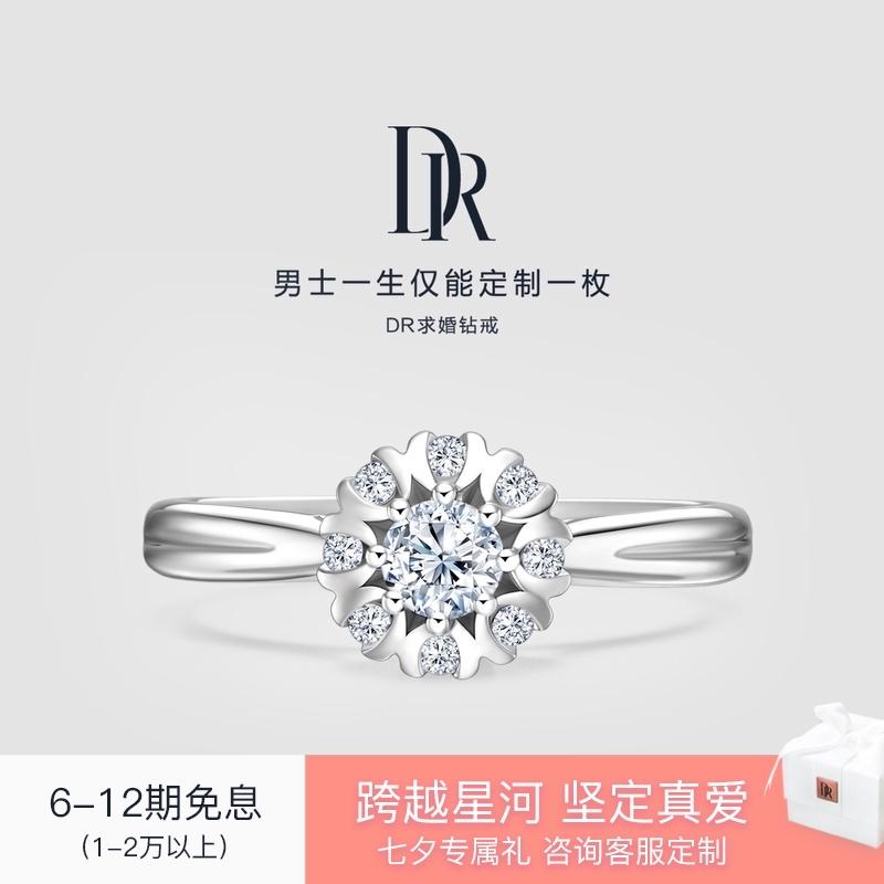 DR WEDDING幸福ブーケプロポーズダイヤモンドリング公式旗艦店は一部の手のサイズのみを販売しています。