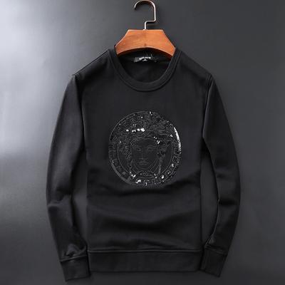JP332 9103 P130 挂拍黑色 2018秋季新款长袖卫衣 纯棉外套男潮流