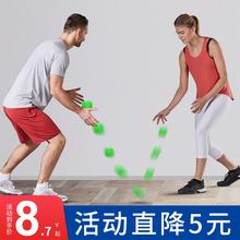 六角反应球变向球灵敏度反弹球网球训练器敏捷球儿童玩具锻炼速度