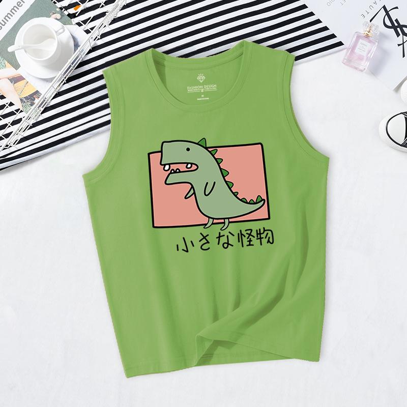 (用39.1元券)牛油果绿女外穿夏泫雅mschf t恤