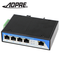 Industrial Switch 5 Gigabit Ethernet rail Type Lightning monitoring 4 port switch redundant power supply Opel