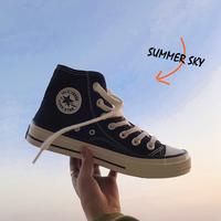 青少年学生帅气夏季韩版潮流帆布鞋