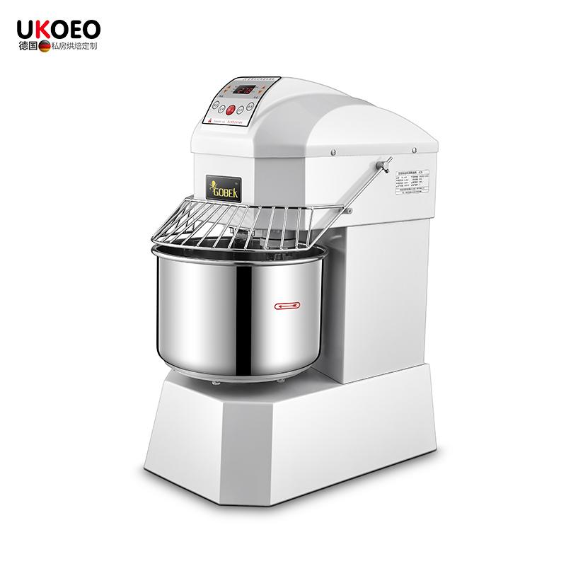 UKOEO A5/A10双速双动和面机搅拌机全自动揉面打面机商用25公斤