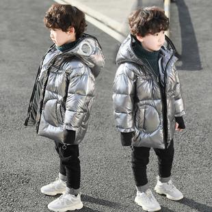童装男童棉服中长加厚冬装2019新款儿童中大童羽绒棉袄洋气韩版潮品牌