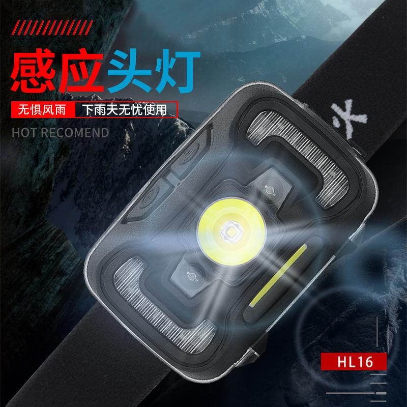 神火hl16强光感应led充电超亮头灯(用77元券)