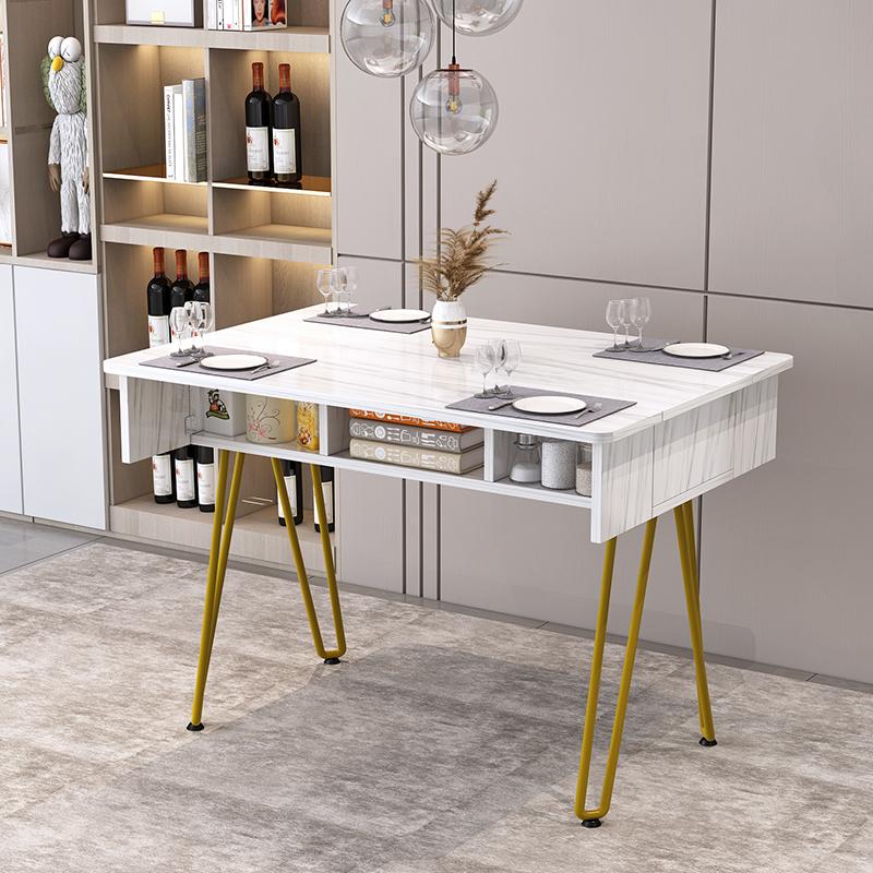 北欧折叠桌餐桌家用小户型吃饭桌子怎么样