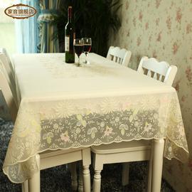 家音塑料桌布 pvc防水防油餐桌布 免洗台布茶几垫 欧式印花桌垫