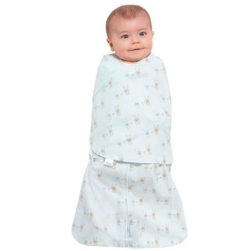 American halo cotton wrapped infant sleeping bag 0-6 months storage sleeping bag
