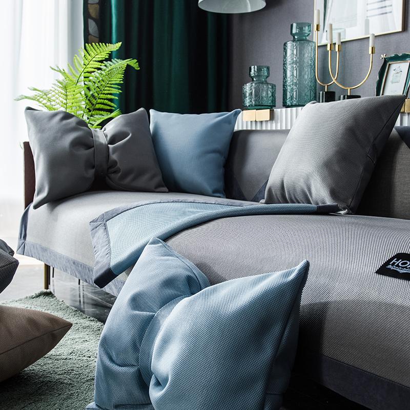 夏季凉席垫冰丝皮客厅防滑罩沙发垫值得购买吗