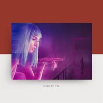 银翼杀手2049赛博朋克瑞恩高斯林电影周边海报卧室装饰画