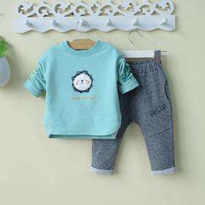 男宝宝秋装两件套装婴幼儿韩版可爱