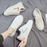 2020夏季新款透气休闲运动板鞋韩版潮流男鞋百搭小白帆布潮鞋白鞋
