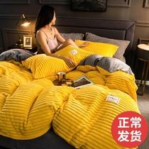 版提花单件被套单人双人全棉被罩婚庆情侣棉被套可定制AB全棉贡缎
