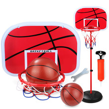 Baby and child basketball rack can lift indoor toy boys 2-3-5 years old home shooting basket children 4-6 blue