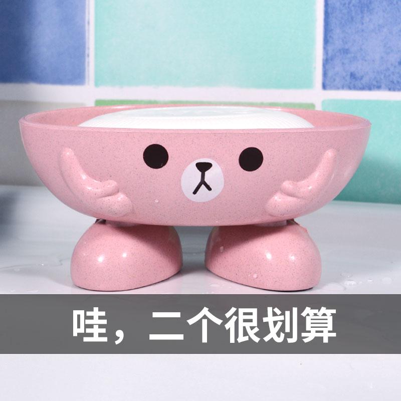 欧式可爱小熊创意沥水卫生间置物架