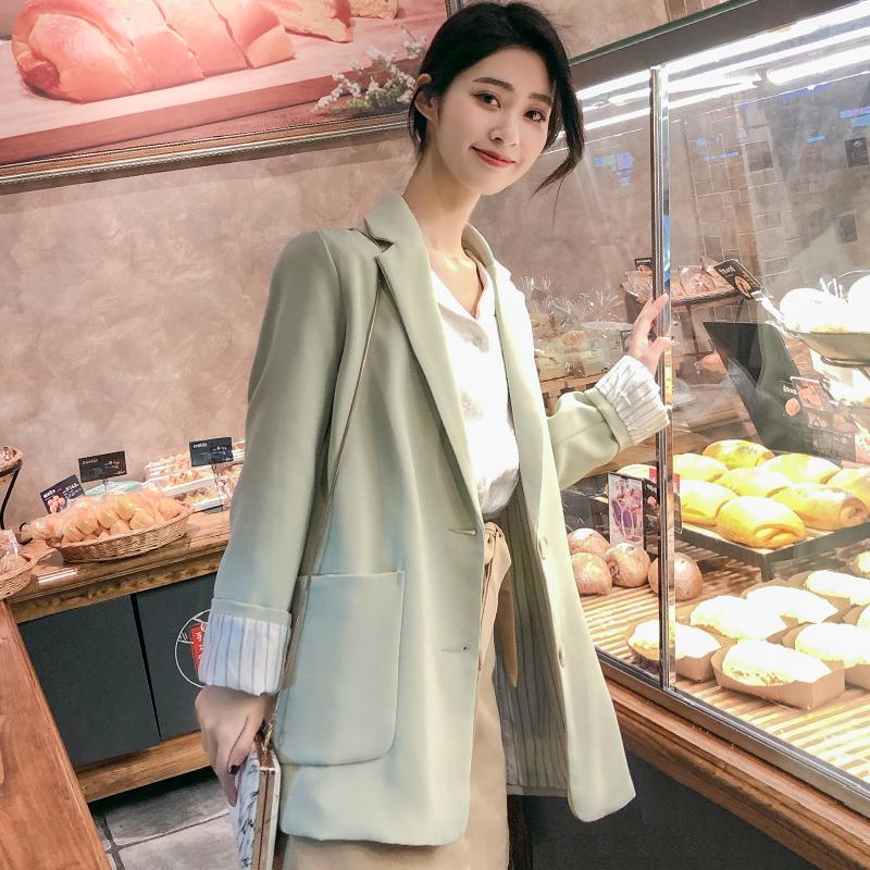 春季小西装外套韩版英伦风网红2020