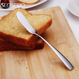 牛油刀黄油刀果酱刀黄油抹刀加厚不锈钢抹油刀抹刀奶油刀西餐刀具