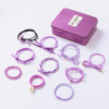 South Korean hair accessories head Shengpi boxed sets of children girl students not to hurt the hair tie hair ring girls hair rubber band