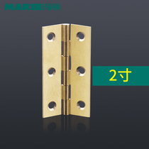 Mary thickened copper hinge cabinet door hinge wardrobe cabinet door thickened all copper gold small hinge 2 inch 2