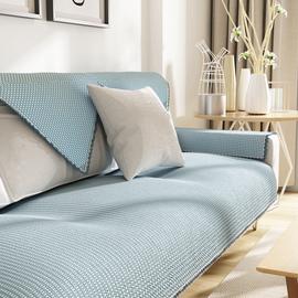 沙发垫四季通用客厅简约现代棉麻布艺粗布防滑沙发套罩巾全盖定做