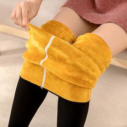 东北打底裤女外穿加绒加厚羊羔绒冬季特厚抗寒超厚保暖棉裤一体裤