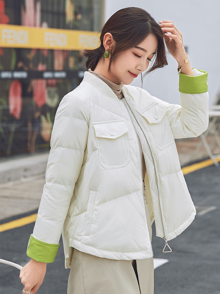 Off season clearance down jacket womens short 2020 new pop East Gate fashion loose autumn and winter Lightweight Jacket