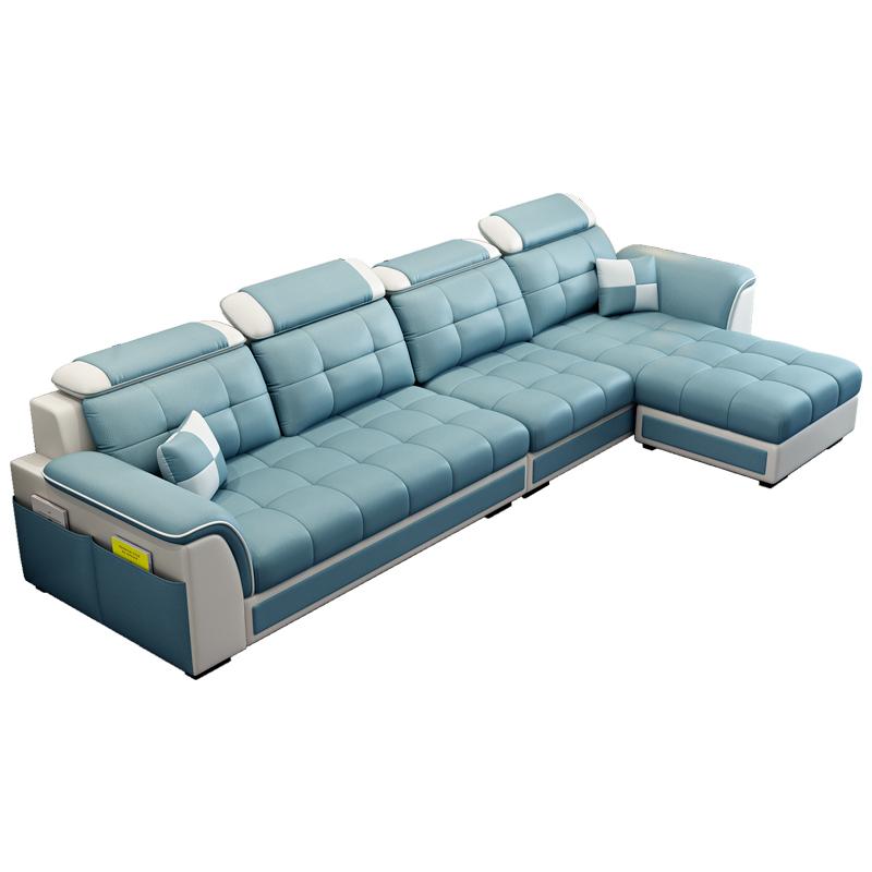 布艺小户型客厅北欧简约现代沙发质量可靠吗