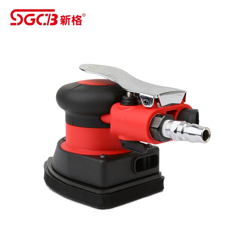 SGCB新格气动玻璃抛光机高速震抛机汽车美容工具